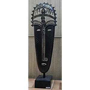 Sanchayika Studio Hand Made Tribal 3D Metal Face Table Top