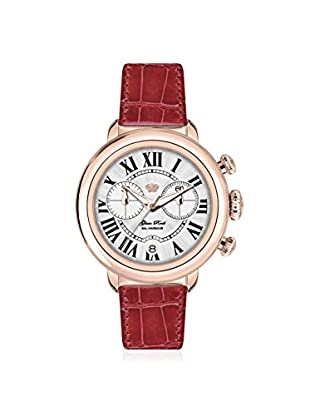 Glam Rock Women's GR77136 Bal Harbour Red/Mother of Pearl Genuine Alligator Watch