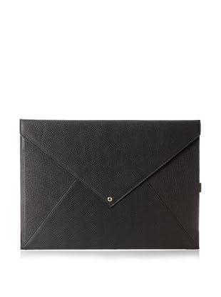 Gorjana Women's Felix Laptop Envelope Case, Black Mini Snake