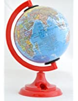 World Globe with Pencil Sharpener (Multicolour)