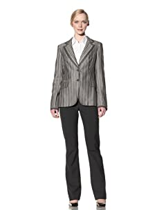 Loro Piana Women's Deneuve Celebrity Jacket (Olive/White)