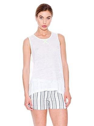 Mango Camiseta Porter (Blanco)
