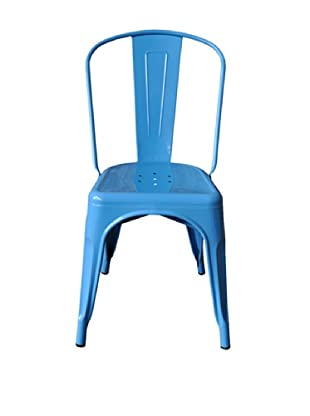 Euro Home Collection Garvin Chair, Blue