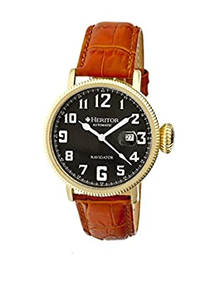 Heritor Automatic Uhr Olds Herhr3206 camel 50  mm