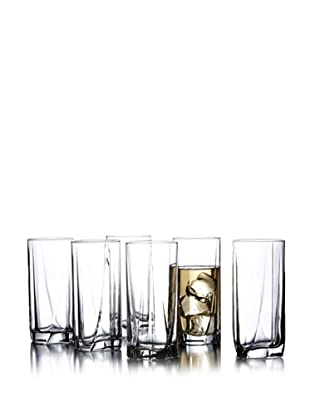 Style Setter Set of 6  Luna Highballs
