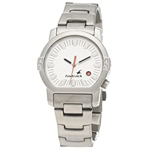 Fastrack Core Analog White Dial Men's Watch - NE1161SM03