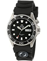 "Orient Men's EM6500BB ""Ray"" Automatic Stainless Steel Dive Watch with Black Rubber Band"