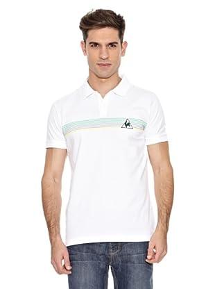 Le Coq Sportif Polo Orno Pss (Blanco)