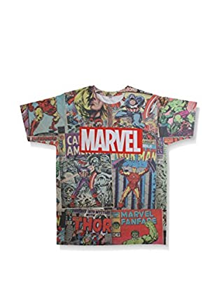 MARVEL Camiseta Manga Corta RETRO COMICS