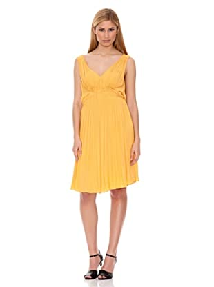 Hugo Boss Vestido Dilandra (Amarillo)