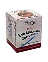Andrea Eye Qs Eye Make Up Correctors Swabs 50 S (2 Pack)