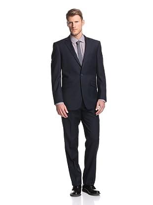 Renoir Men's Slim Fit Solid Suit (Navy)