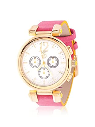 FORTUNE Women's NWL372250G-RE Red/White Leather Watch