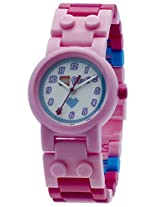 LEGO Kids 9001024 LEGO Friends Stephanie Plastic Watch with Link Bracelet and Figurine