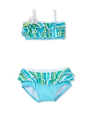 Azul Swimwear Girl's Little Mermaid Bikini (Turquoise)