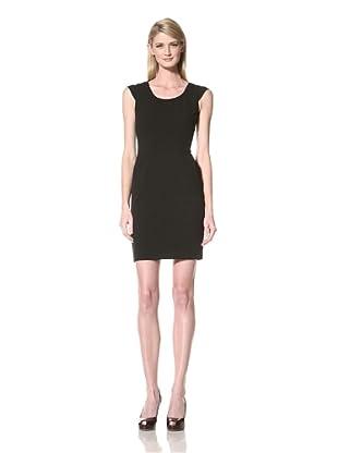 Marc New York Women's Cap Sleeve Dress (Black)