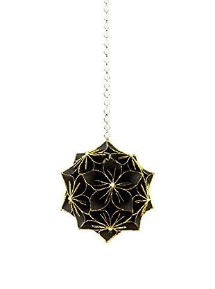 Sage & Co. Paper Poinsettia Ball Ornament