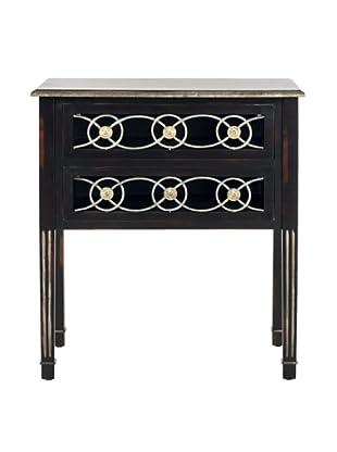 Safavieh Patricia Side Table, Dark Brown