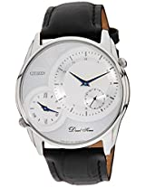 Citizen Analog White Dial Men's Watch - AO3001-06A