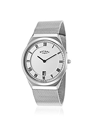 Rotary Men's GB02609-21 Silver Tone/White Stainless Steel Watch