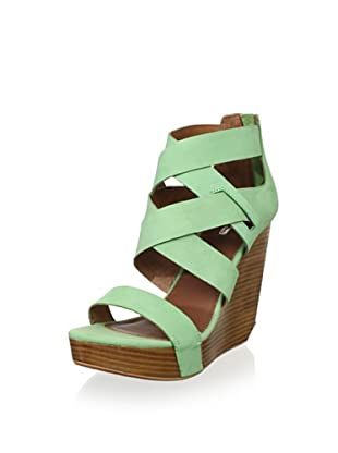 Matiko Women's Stacey Wedge Sandal (Peppermint)