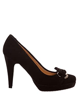 Paco Herrero Zapatos Salón Lazo (Negro)