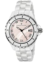 Christian Van Sant Women's CV9413 Analog Display Quartz White Watch
