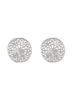 Silver One Pendientes Esfera de filigrana Plata