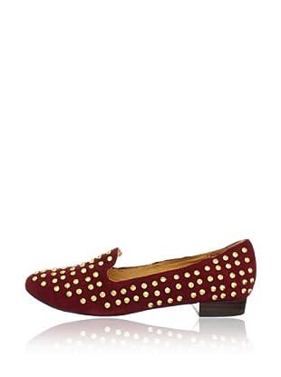 Buffalo London 211-1170-20 KID SUEDE 141263 - Zapatos de cuero  mujer (Rojo)