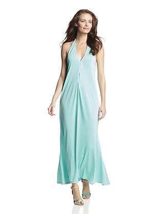 JOSA Tulum Women's Halter Maxi Dress (Mint)