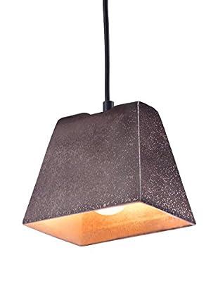 Zuo Auckland Ceiling Lamp, Rustic Black