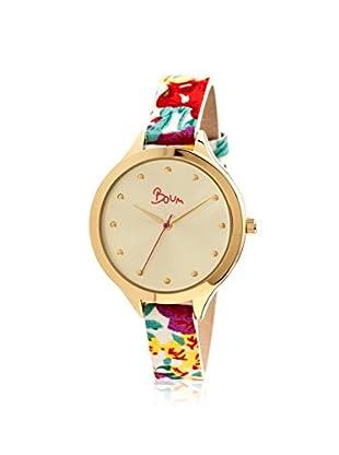 Boum Women's BM1903 Gold-Tone Leather Watch