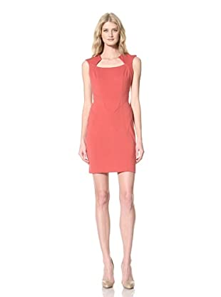 Vince Camuto Dresses Women's Capsleeve Dress (Garnet)