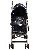 Mee Mee Baby Stroller (Navy Blue Teddy)