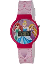 Disney Digital Multi-Colour Dial Girl's Watch - DW100466