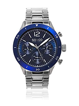SO & CO New York Reloj de cuarzo  Plateado 42 mm