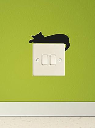 Ambiance Sticker Wandtattoo Sleepping Cat Mini