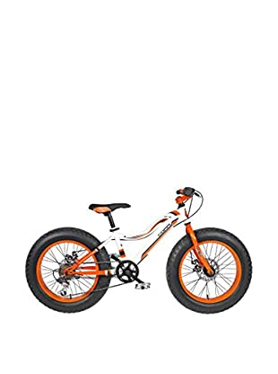 Linea Fausto Coppi Fahrrad Kids Fat Bike weiß/orange
