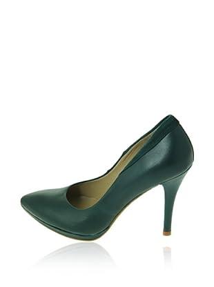 Pierre Cardin Zapatos Salón Amanda (Azul Petróleo)