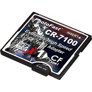PhotoFast Micro SDHC >> CF変換アダプタ CR-7100
