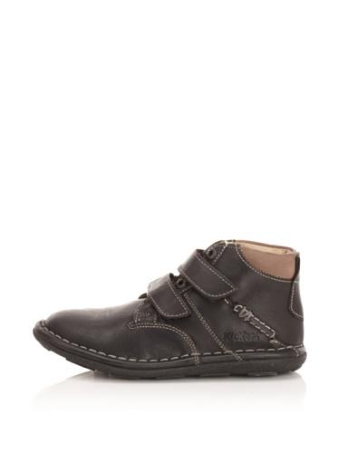 Kickers Kid's Swan Ankle Boot (Little Kid/Big Kid) (Black)