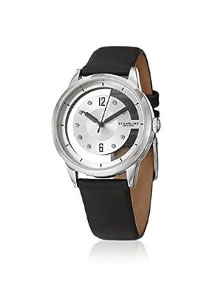 Stührling Women's Winchester 946L Symphony Black/Silver Stainless Steel Watch