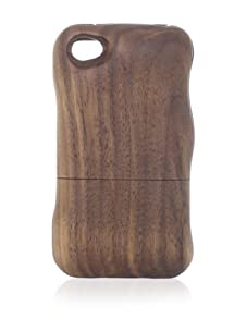 Real Wood iPhone 4/4S Case, Plain, Walnut