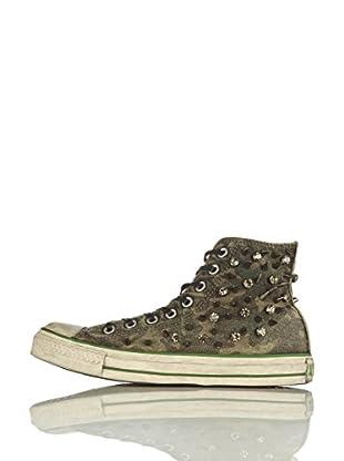 Converse Zapatillas All Star Hi Canvas Sparkles Limited Edition (Verde)