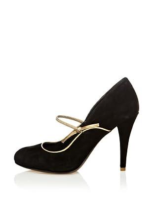 Rockport Zapatos Salón Presia (Negro / Dorado)