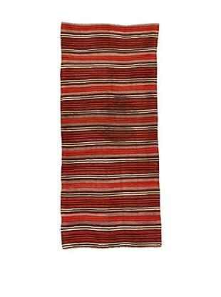Design Community By Loomier Teppich Kilim Caucasico mehrfarbig 130 x 295 cm