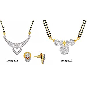 Spargz 2 Set Mangalsutra COMBO 109 For Women