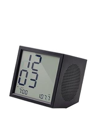 Lexon Prism Clock Radio, Black