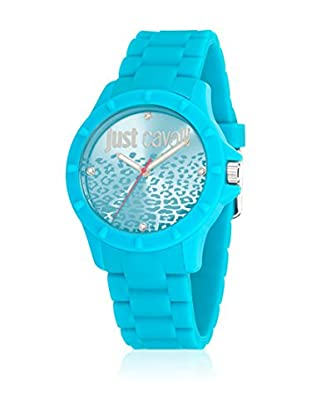 Just Cavalli Orologio al Quarzo Woman Jc-Juyce 3H Blu 40 mm