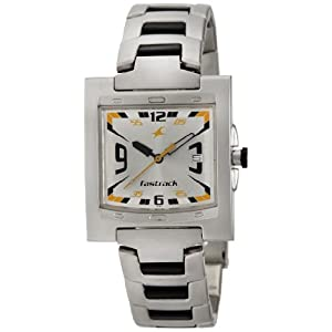 Fastrack Core Analog Silver Dial Men's Watch - NE1229SM04